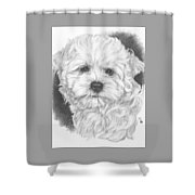 Malti-chon Shower Curtain