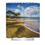Maluaka Beach Shower Curtain