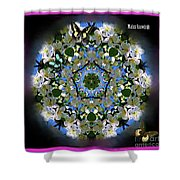 Malus Snowdrift Shower Curtain