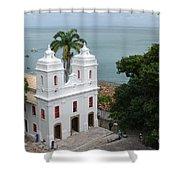 Mam Salvador Da Bahia - Brazil Shower Curtain