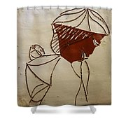 Mama 2 - Tile Shower Curtain