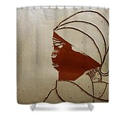 Mama 4 - Tile Shower Curtain
