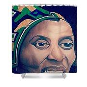 Mama Afrika Shower Curtain