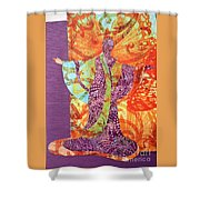 Mama Butterfly Shower Curtain