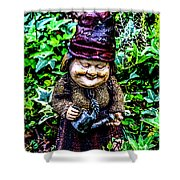 Mama Gnome Shower Curtain