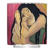 Mama Shower Curtain