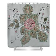 Mama Rose And Her Babies Shower Curtain