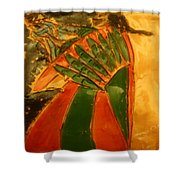 Mama's Gal- Tile Shower Curtain