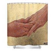 Mama's Hand Shower Curtain