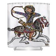 Mameluke Archer, C1300 Shower Curtain