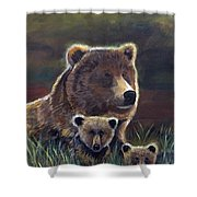 Mammas Warmth Shower Curtain