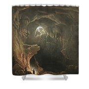 Mammoth Cave Shower Curtain