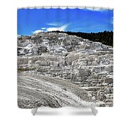 Mammoth Hot Springs2 Shower Curtain