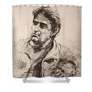 Man 5 Shower Curtain