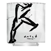 Man About Town Shower Curtain