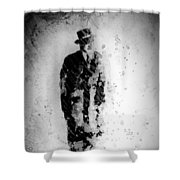 Man In A Hat Shower Curtain