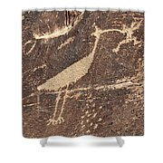 Man In Beak Shower Curtain