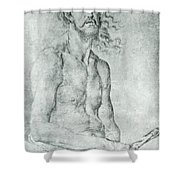 Man Of Sorrow 1522 Shower Curtain