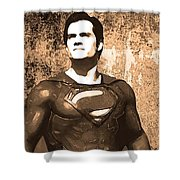 Man Of Steel Shower Curtain