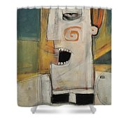 Man Of The Cloth Shower Curtain