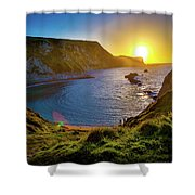 Man Of War England Shower Curtain