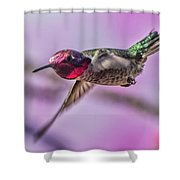 Man On A Mission Shower Curtain