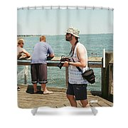 Man  Shower Curtain