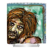 Man Without Hope Shower Curtain