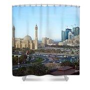 Manama Bahrain Shower Curtain
