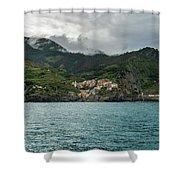 Manarola, Cinque Terre Shower Curtain