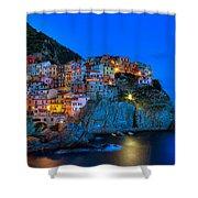 Manarola - Cinque Terre In Widescape Shower Curtain