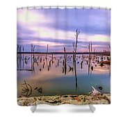 Manasquan Sunrise Shower Curtain