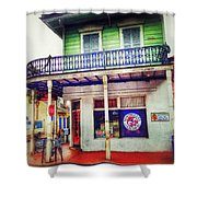 Manass's Grocery From Front Shower Curtain