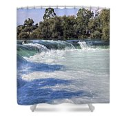 Manavgat Waterfall - Turkey Shower Curtain