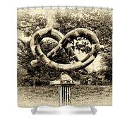 Manayunks Pretzel Park Shower Curtain