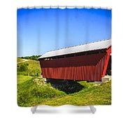 Manchester  Covered Bridge Shower Curtain