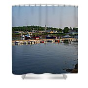 Manchester Harbor Manchester By The Sea Ma Shower Curtain