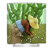 Mandacaru Shower Curtain