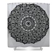 Mandal 5 Shower Curtain