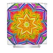 Mandala 12 20 2015 Shower Curtain