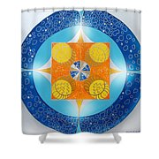 Mandala 15 Shower Curtain