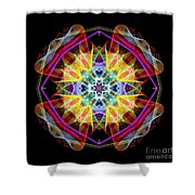Mandala 3309a Shower Curtain