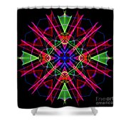 Mandala 3351 Shower Curtain