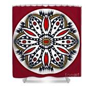 Mandala 66 Shower Curtain