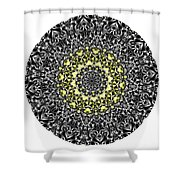 Mandala - Amulet 866 For Those Born In ..... Shower Curtain