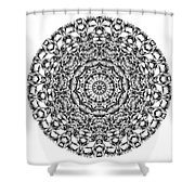 Mandala - Amulet 867 For Those Born In ..... Shower Curtain