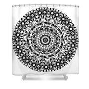 Mandala - Amulet 871 For Those Born In ..... Shower Curtain