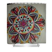 Mandala Art Shower Curtain