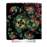 Mandala Color Dreams Shower Curtain