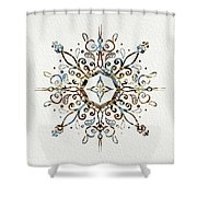 Mandala Earth And Water 3 Shower Curtain